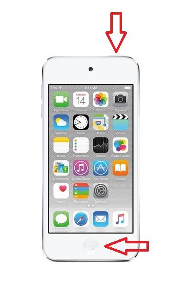 iPod Touch Force Restart