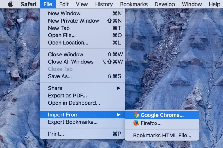 Import Chrome Bookmarks to Safari
