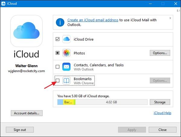 sync Safari bookmarks with Chrome