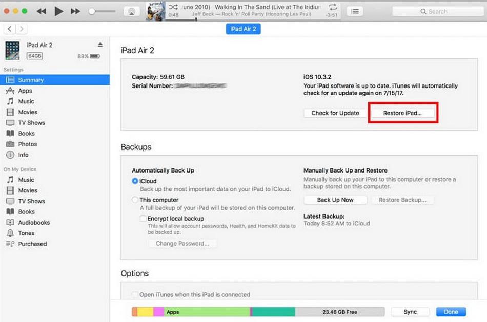 restore-ipad-to-fix-ipad-red-screen-problem-restore-ipad-5