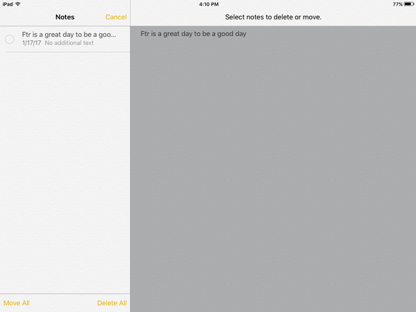 transfer notes from ipad to mac via icloud