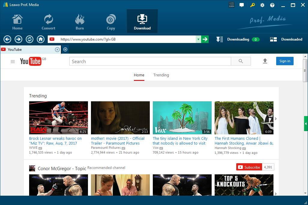 5 Best Music Downloaders for Windows 10 | Leawo Tutorial Center