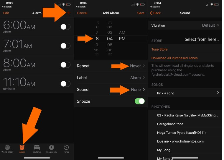 Set-Alarm-on-iphone