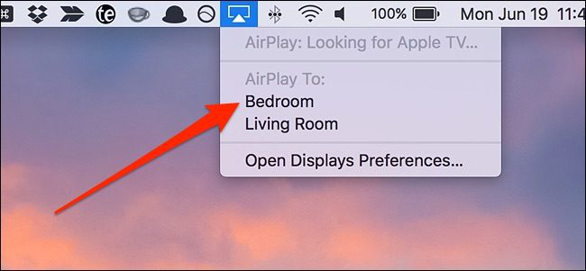 how to use airplay on mac