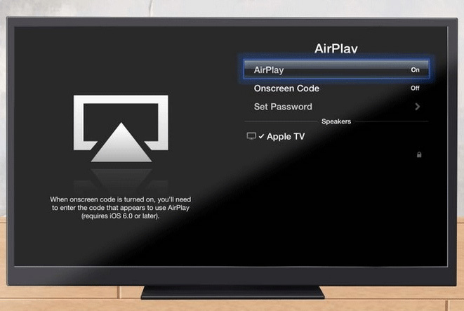 airplay mirror iapd to apple tv