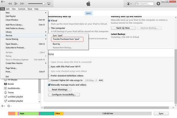 transfer-music-from-iPod-to-iTunes-with-itunes