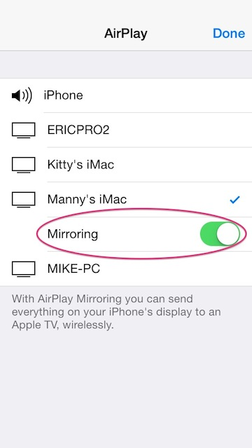 miracast iphone and alternatives