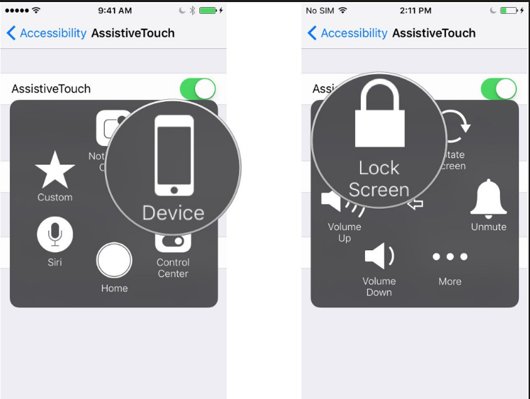 how to turn off iphone with assistive touch turn iphone with assistive touch leawo tutorial center 3102