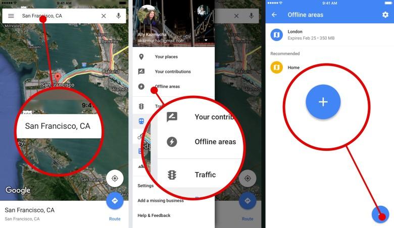Use Google Maps Offline On Iphone Leawo Tutorial Center