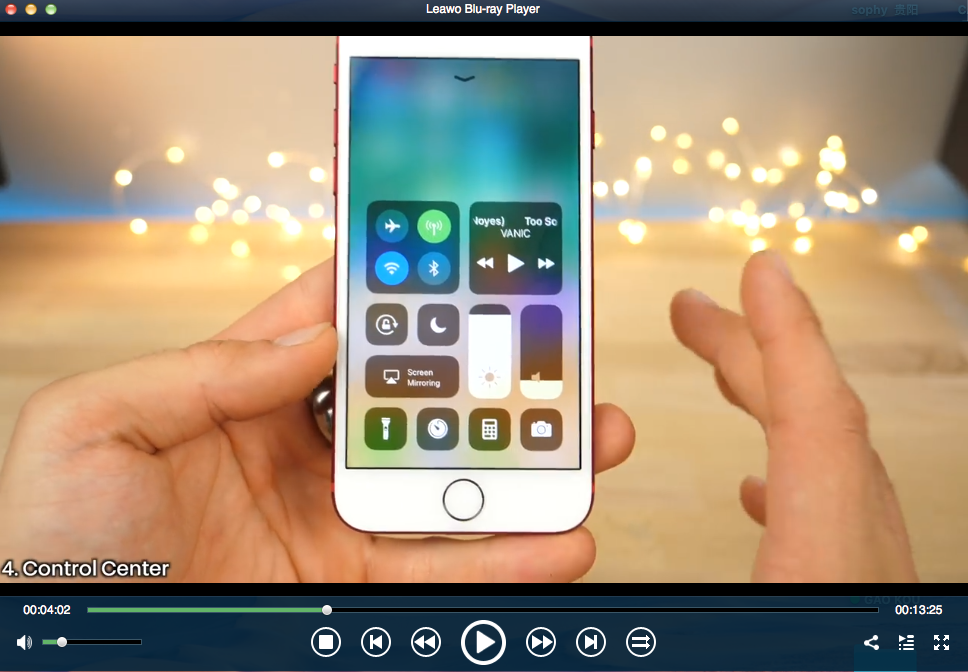 ios new features video guide