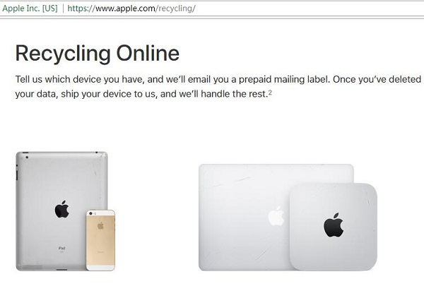 Apple's Renew and Recycling Programme