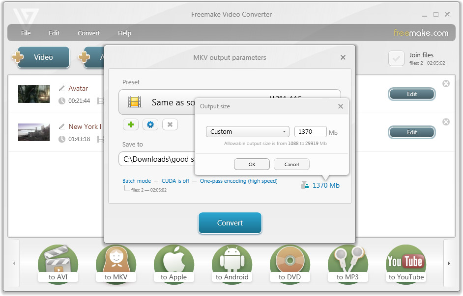 convert video ts to mp4