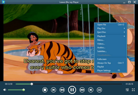 how to show subtitles in windows media player