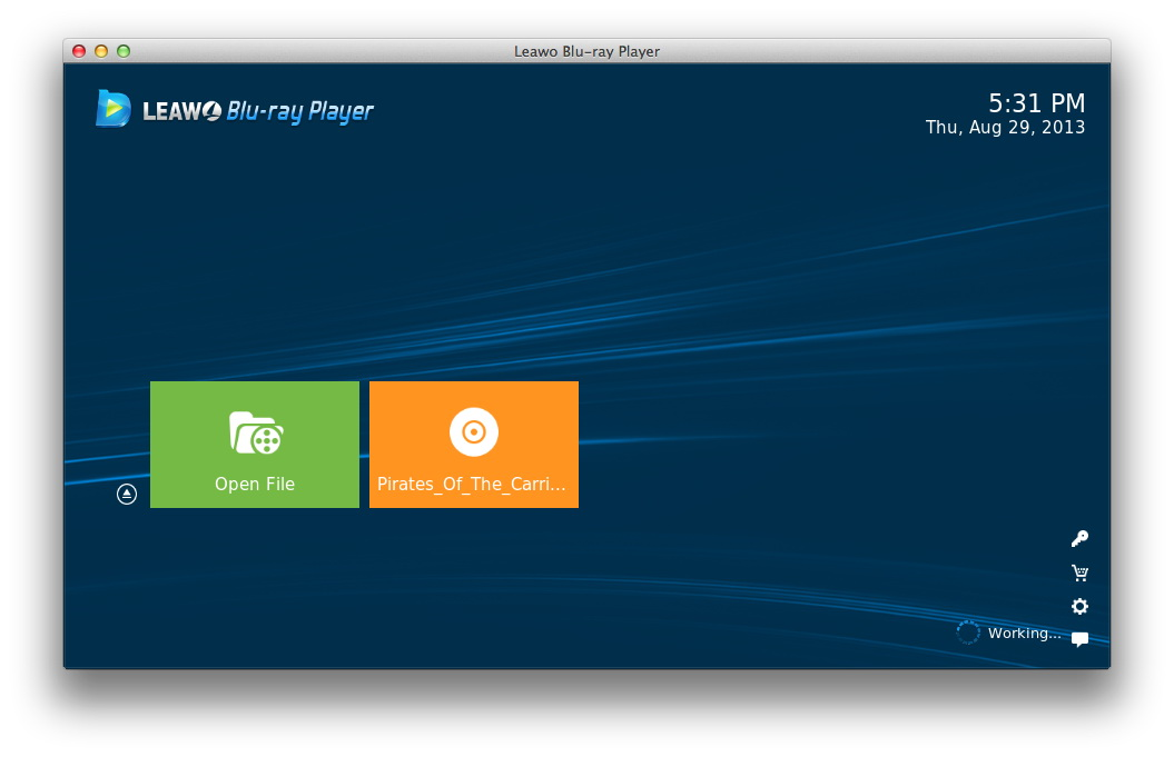 Windows] aurora blu-ray media player is an awesome media player.