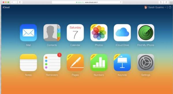 Go to iCloud.com