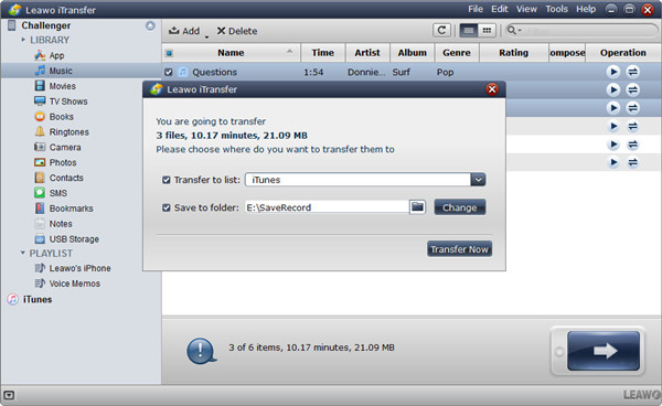 how-to-transfer-music-from-iPad-to-Android-with-Leawo-iTransfer-03