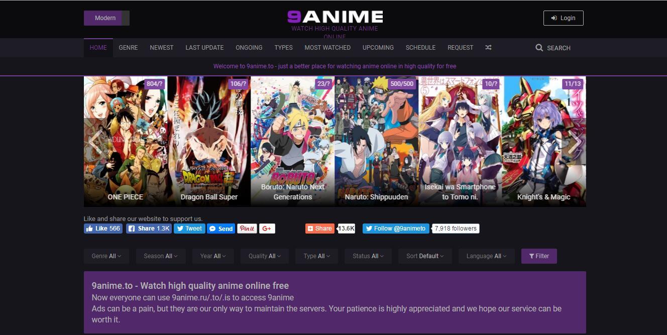 watch top anime online and offline