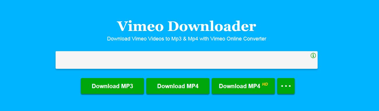 Vimeo-converter-online