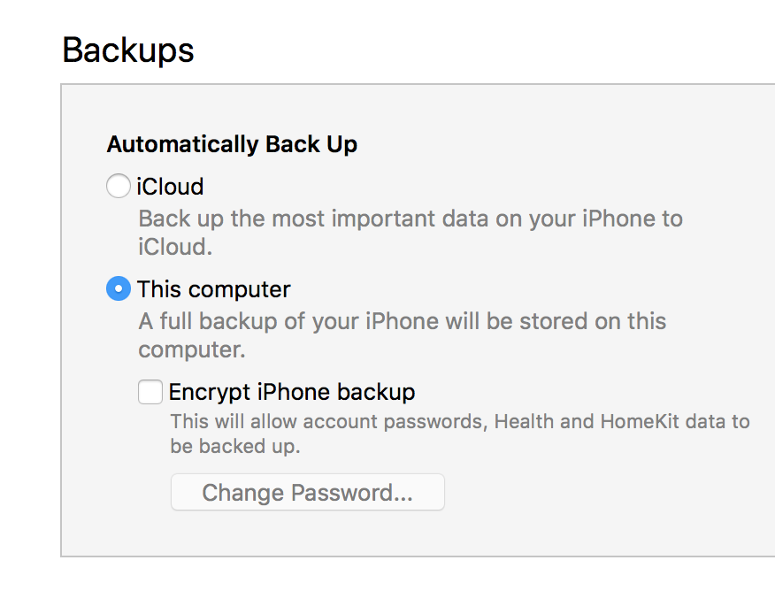 How to Change iPhone Backup Location | Leawo Tutorial Center
