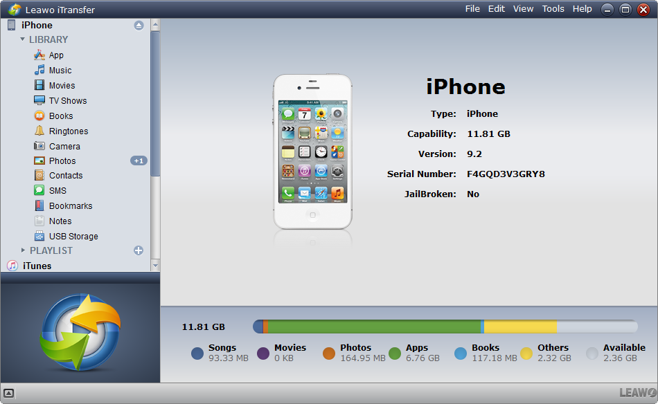 how-to-transfer-files-from-iphone-to-usb-with-leawo-itransfer-01