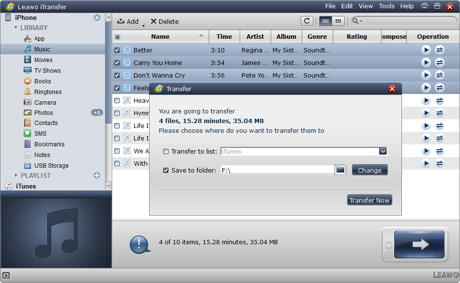 how-to-transfer-files-from-iphone-to-usb-with-leawo-itransfer-03