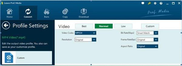 Set Video Parameters
