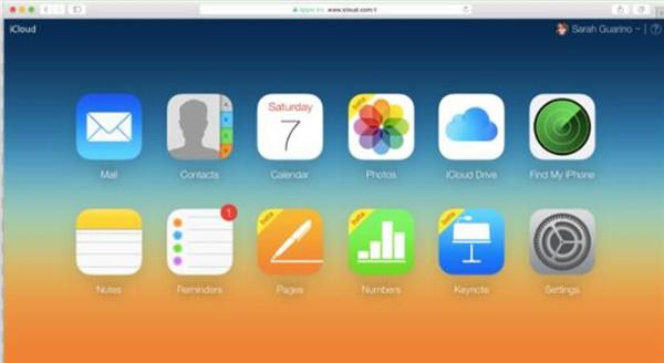 Open iCloud.com