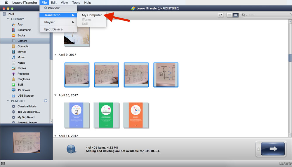 another way you can transfer your photos to Mac