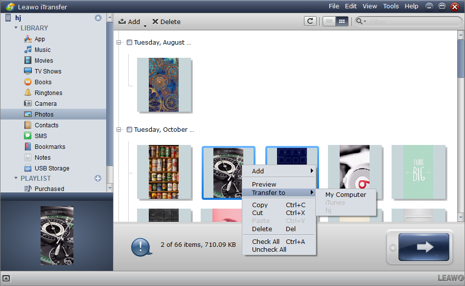 Backup Snapchat Screenshots on iPhone to PC