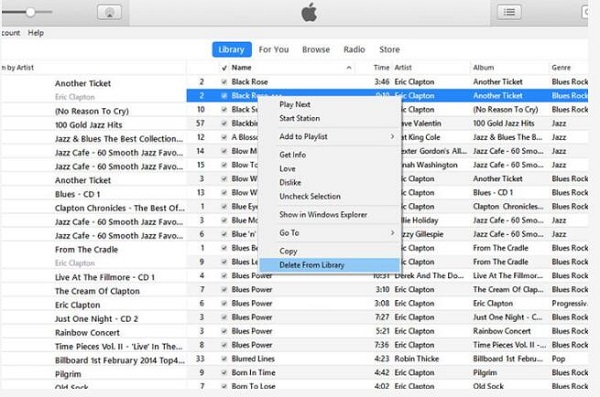 Drag the ringtone to your computer and delete the old one in iTunes