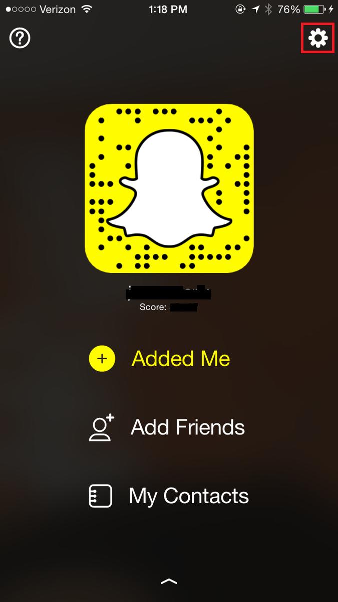 Take screenshot of Snapchat