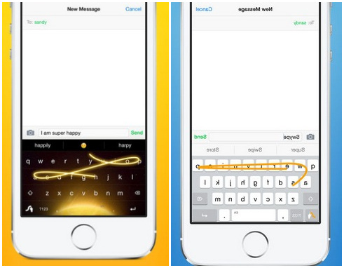 how to change the keyboard in iphone
