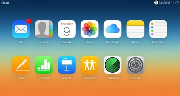 sign into iCloud.com