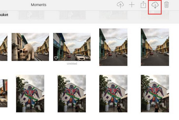 download photos from iPhone to PC
