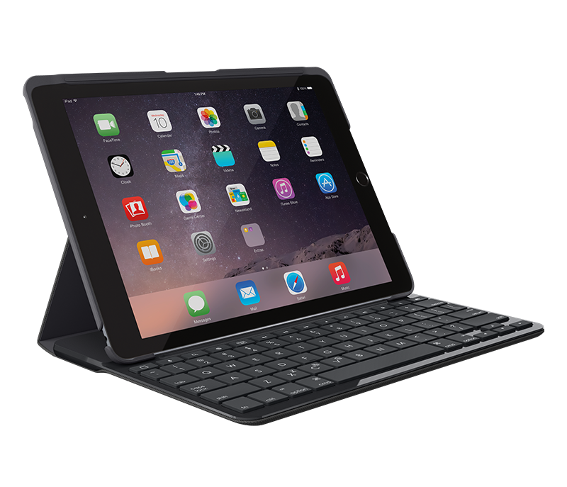 Logitech Slim Folio Bluetooth keyboard