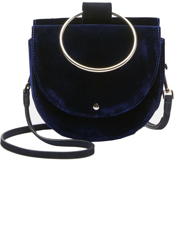 Whitney Bag In Velvet