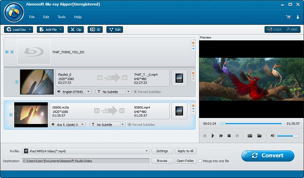 ripping blu ray to mpeg