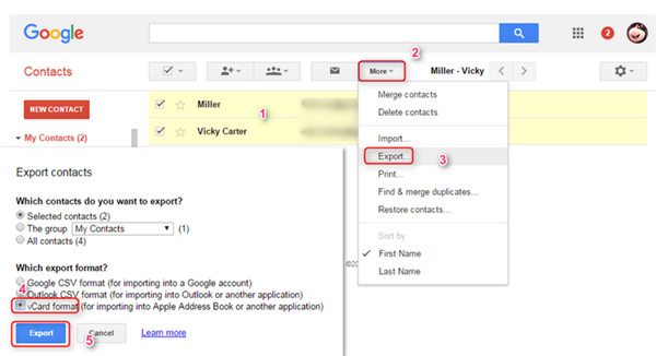 download google contacts app for pc