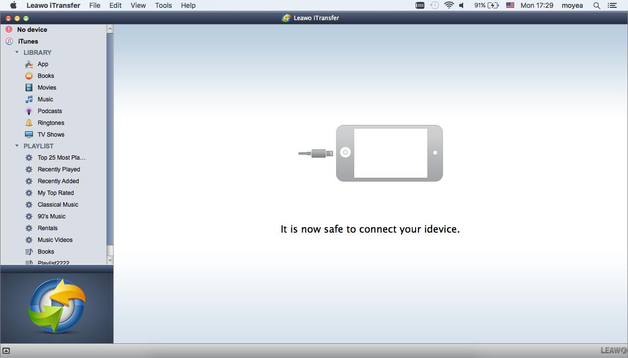 Connect iPad to Mac