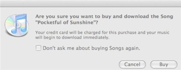 Buy MP3 in iTunes Store