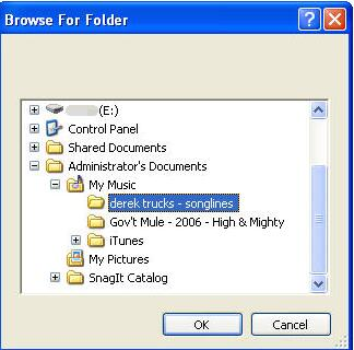 choose the folder you want to save