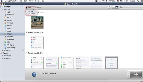 Add File to iPad