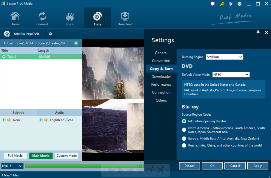 best blu ray copy freeware