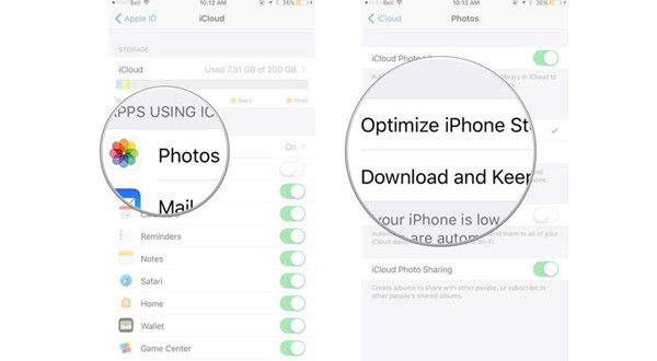 Get Photos from iPhone to PC via iCloud