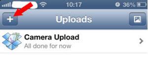 Get Photos off iPhone to PC via Dropbox