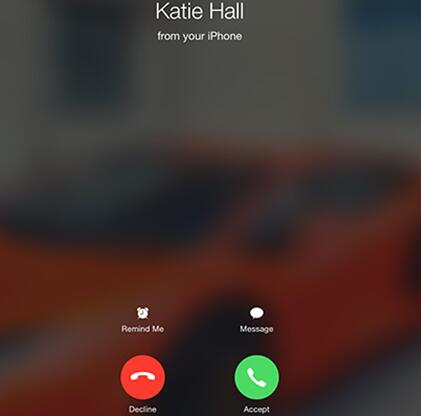 answer calls on iPad using your iPhone