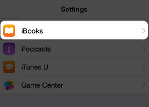 Transfer iBooks from iPad to Another iPad via Settings