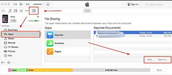 What you need for File Sharing