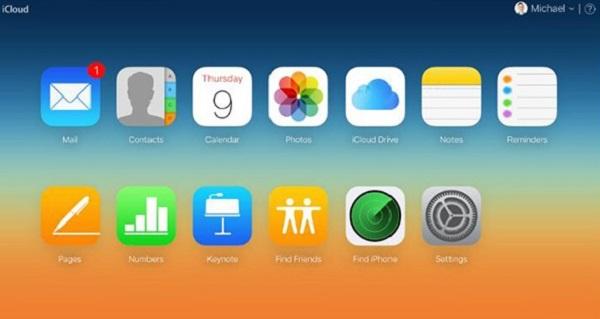 Log into www.iCloud.com