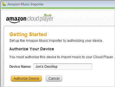 install Amazon Cloud player